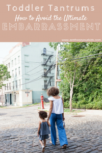 Toddler Tantrums: How to Avoid the Ultimate Embarrassment
