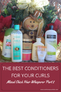 The Best Conditioners for Your Curls: Mixed Chick Hair Whisperer Part 2
