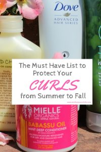 The Must Have List to Protect Your Curls from Summer to Fall
