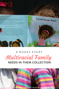 Representation matters. Even if you aren't in a multiracial family, it's important to show your children diversity through books you read together.