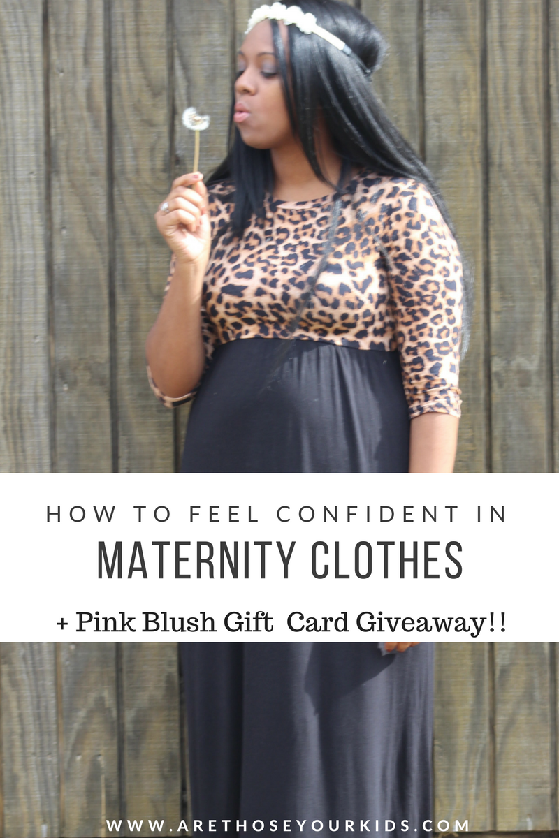 882081faf90 How To Feel Confident In Your Maternity Clothes + Pink Blush Giveaway!