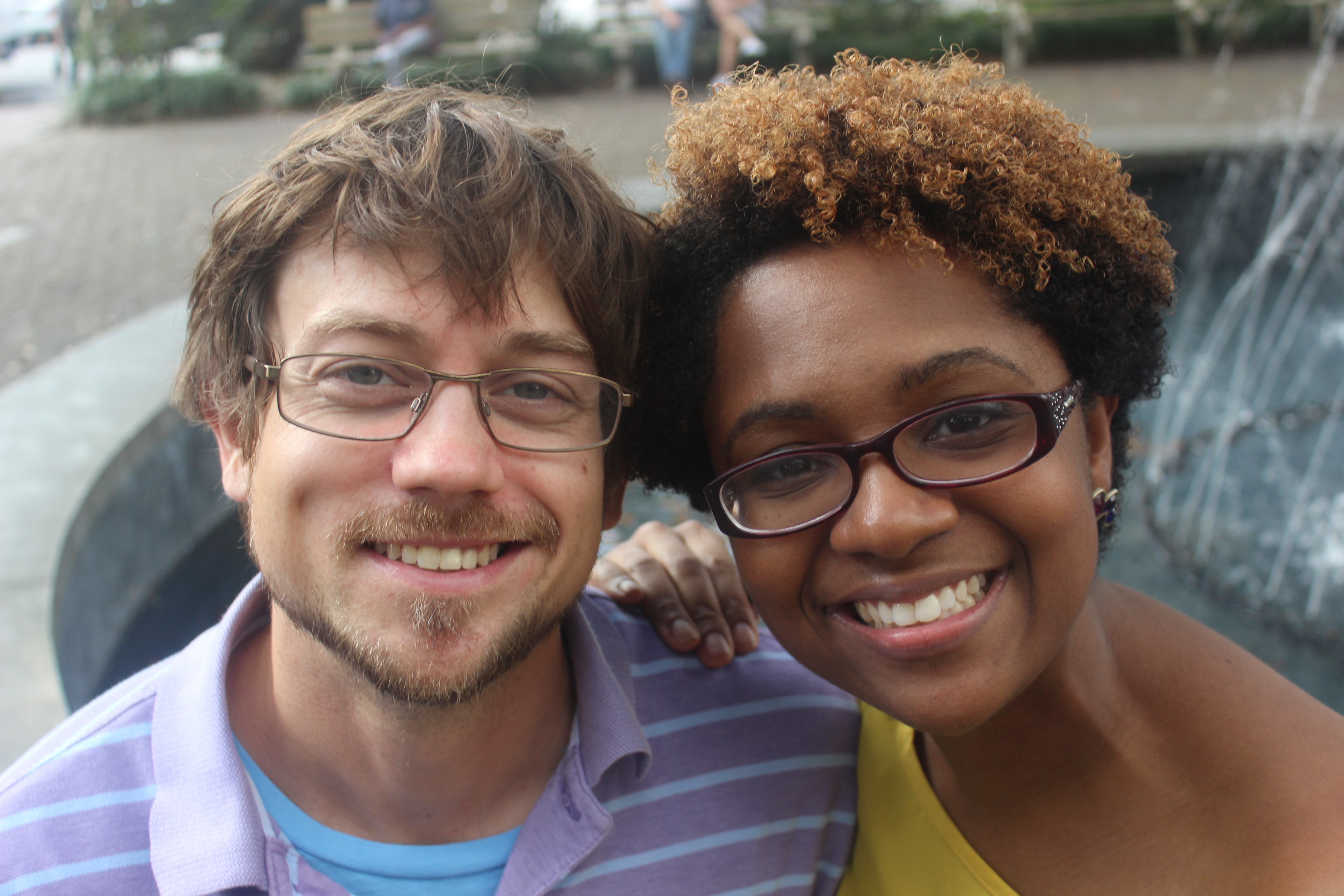 Where is interracial dating most common