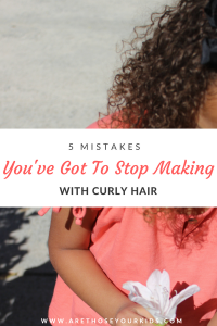 Managing and styling curly hair can be frustrating and daunting. Find out 5 mistakes you are making and how to fix them right now!