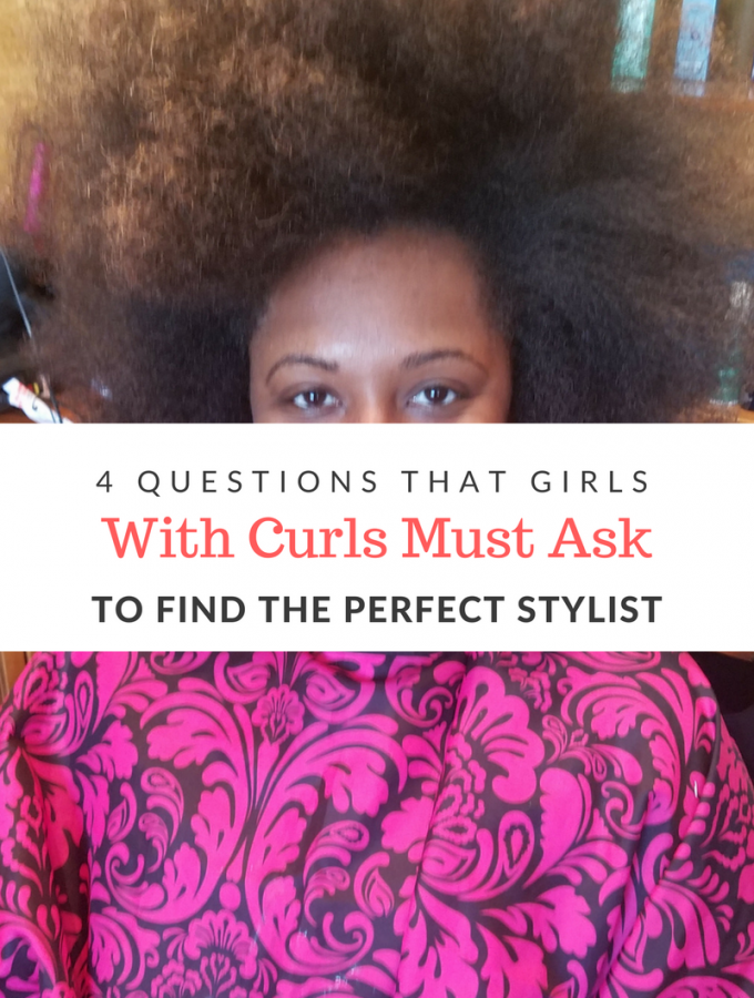 It's always difficult to find a new stylist, especially when you have curls. Here are a few tried and true questions to help you find the perfect stylist.