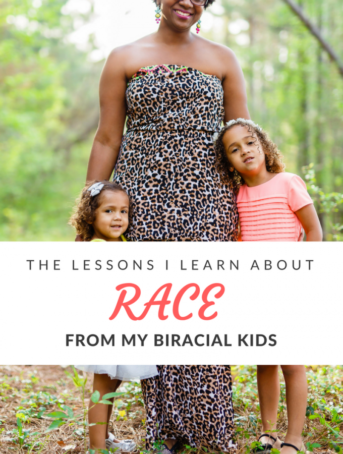 Even in our interracial marriage, my husband and I didn't think much about race until after having children. They've taught us a few important lessons.