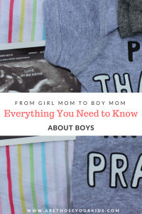 When you've parented girls, it can be difficult to transition to parenting a boy. Recognizing that boys and girls have different needs is half the battle.