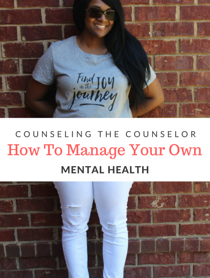 If you are a counselor or a good listener, you may have a difficult time saying no to helping others. It is important to be in charge of your mental health.