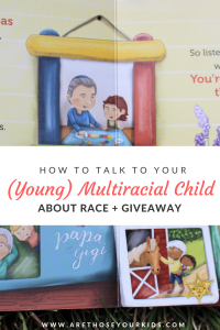 One day your multiracial child may be faced with questions about their skin color. It can be difficult facing questions from strangers about your child.