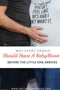 Bringing a new baby home changes the dynamic in the home and can cause stress between a couple. Taking a babymoon together helps couples reconnect before baby arrives.