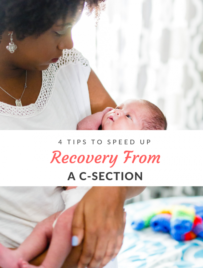 Recovery from a c-section is tough on a new mother's body. Taking care of yourself after a c-section is just as important as taking care of your newborn.