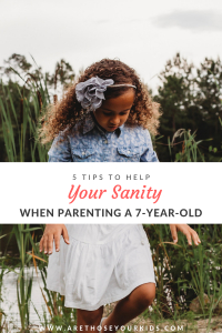 Parenting a 7-year-old is tricky because you are past the toddler years, but not quite a teenager. It is a fun age, but brings its own set of challenges.