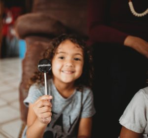 People often ask how I get my girls to sit still while I'm styling their curls. Here are a few quick and easy ways to get your child to enjoy the process.