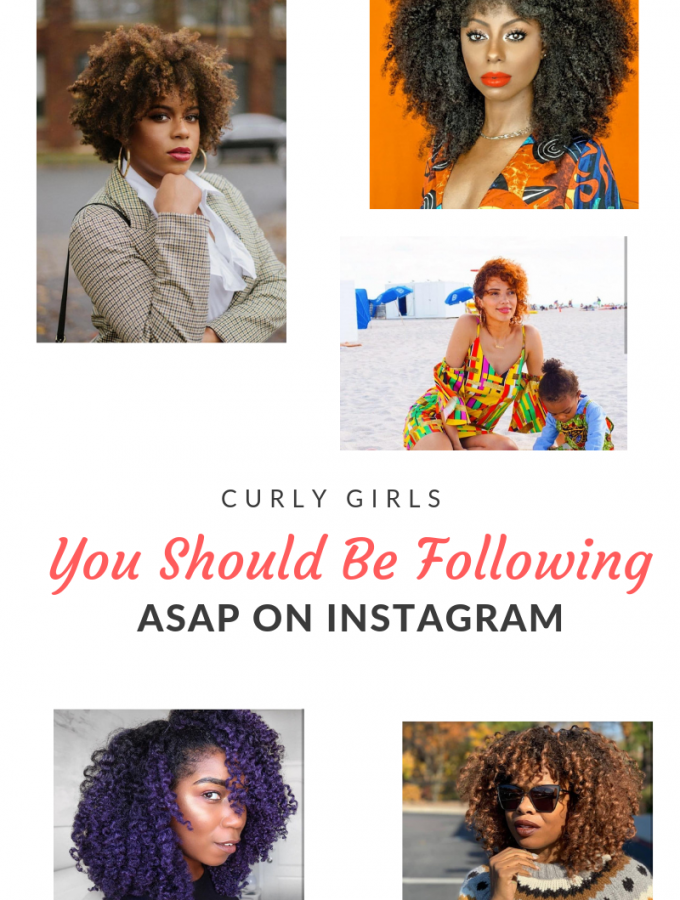 Instagram is the place to find all things curly girl inspiration. Follow these 10 ladies for product recommendations, beauty regimines & videos!