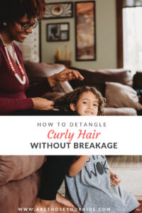 Detangling curly hair without breakage is tricky. Here are a few quick and easy tips to keep curly hair healthy and strong without breakage.