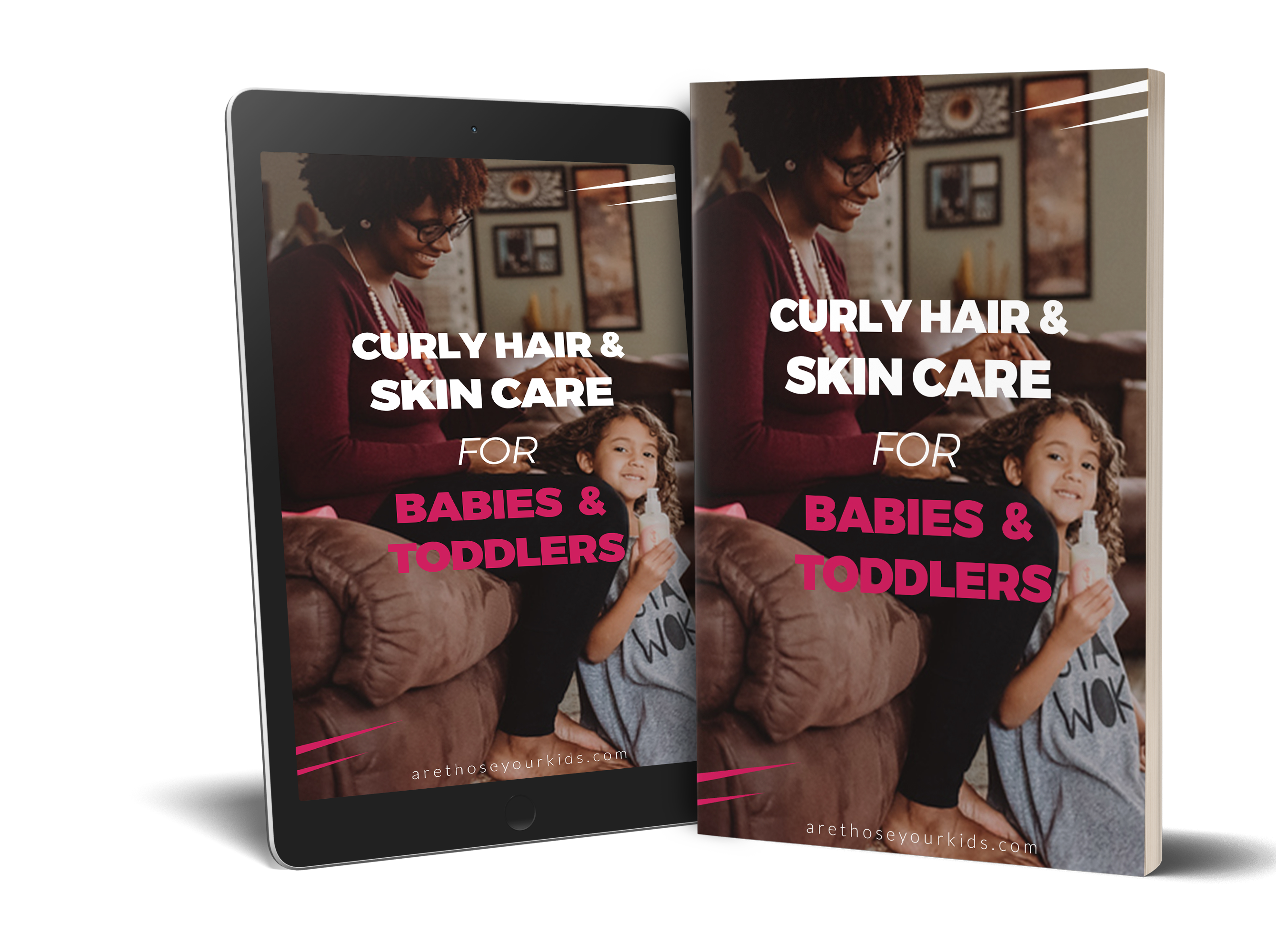 Curly Hair & Skin Care for Babies and Toddlers