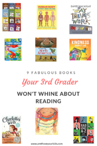 Third grade is a pivotal year for kids as they become better and more independant readers. Here is an amazing list of educational books for your 3rd grader.