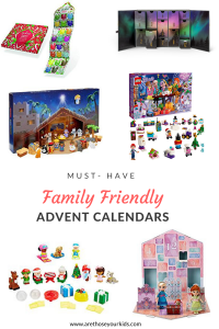 Advent calendars are a fun way to count down the days until Christmas with your family. Check out this list of family friendly calendars.