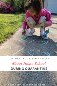 With all the school closures, parents have been forced to home school during the quarantine. Here are a few tips to lessen anxiety.