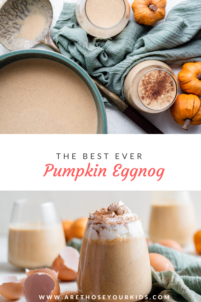 The Best Ever Pumpkin Eggnog